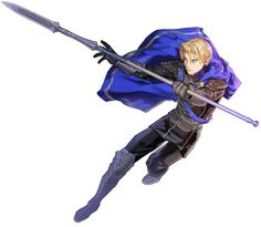 View an image titled 'Dimitri Cover Illustration' in our Fire Emblem: Three Houses art gallery featuring official character designs, concept art, and promo pictures. Game Character Design, Character Home, Character Design Inspiration, Character Concept, Concept Art, Fire Emblem Fates, Fire Emblem Characters, Fantasy Characters, Dnd Elves