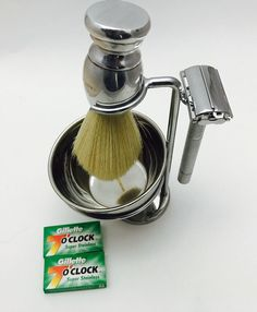 ZEVA Safety Razor Changeable blades provides you the closest shave possible. Stand for Shaving Brush and Safety Razor. Shaving Bowl with Soap. Men Shaving, Shaving Brush, Best Shave, Safety Razor, Male Grooming, Vintage Butterfly, Professional Hairstyles, A Good Man, Stainless Steel