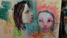 Tim's Sally: Jane Davenport Stencil play