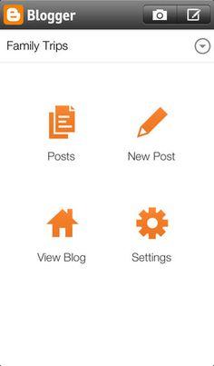 Blogger mobile.
