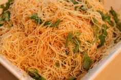 Week of Menus: Angel Hair Pasta with Chili, Lemon, and Arugula: I don't want to be a gangster's wife