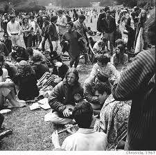 Hippie Hill 1967 Golden Gate Park