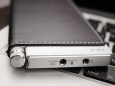 Oppo HA-2: beautiful, capable portable amp/DAC. Kinda looks like a Dunhill lighter.