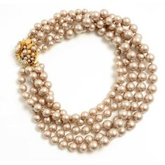 Multi Strands Of Pearls | Miriam Haskell