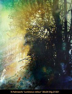 Aquarelle - Roland Palmaerts #watercolor jd