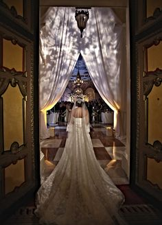awesome, beautiful wedding entrance