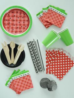 Watermelon Party Ideas and party supplies
