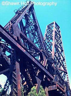 Cleveland Ohio swing bridge