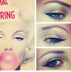 Marilyn Monroe makeup look✨
