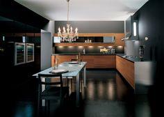 Muebles de Cocinas Selemo #elegant #kitchen #lights