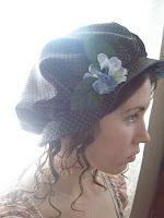Pattern: Regency Pride & Prejudice inspired bonnet or hat pattern, free