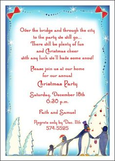 Christmas party invitation wording christmas party invitation interesting celebrations of christmas around the world and the most popular christmas invitations at holiday stopboris Choice Image