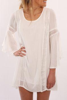 Sweet Emotion Dress White