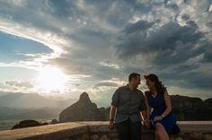 Μάριος + Αναστασία | Pre-wedding φωτογράφηση στα Μετέωρα