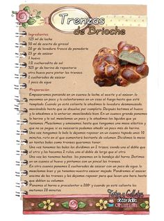 Authentic Mexican Recipes, Mexican Food Recipes, Bread Recipes, Cake Recipes, Cooking Recipes, Chocolate Brioche, Mexican Sweet Breads, Yummy Food, Tasty