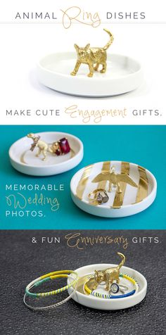 Animal Ring Dishes [Click through for details on how to save $10 off this kit!]