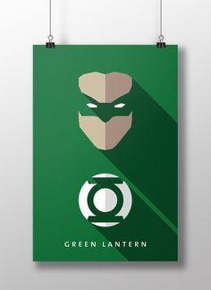 Green Lantern by Moritz Adam Schmitt
