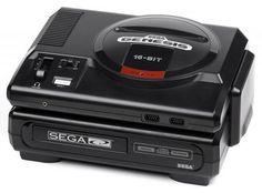 Sega CD Front Loader Genesis System Bundle, attachment hooks up to your classic Genesis Systems available for sale. Playstation, Xbox, Happy 25th Birthday, Sega Cd, Sega Mega Drive, Vintage Video Games, Sega Saturn, System Model, Retro Gamer