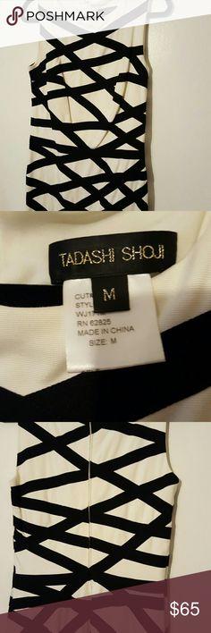 Tadashi Shoji dress Fun black and white bandeau dress Tadashi Shoji Dresses Midi