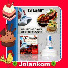 Robot Fat Magnet przy pomocy ktorego bardzo latwo usuniemy nadmiar tluszczu z ulubionych potraw 🍟🍝🍲🍚 Zyjmy zdrowo ❤💚 #zdrowie #tluszcz #uroda #usuwa #usuwanie #potrawy #kuchnia #gotowanie #siesta #sklep #skleponline #prodekol (w: Sklep online...