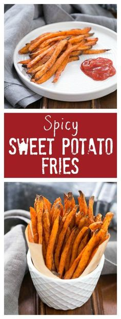Spicy Sweet Potato Fries | So irresistible, you'll eat every last morsel!