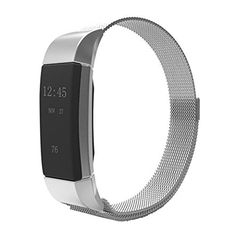 ONEMORES(TM) Milanese Stainless Steel Watch Band Strap Bracelet For Fitbit…