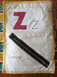 Using alphabet - zipper
