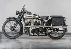 T.E. Lawrence's (of Arabia) Brough Superior SS100 Georges V replica.