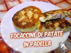 Focaccine di patate in padella | Angela...passione cucina