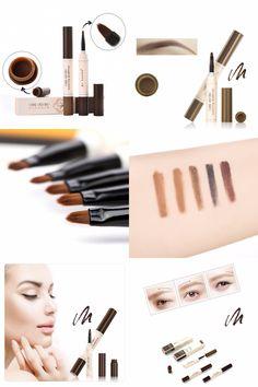 [Visit to Buy] Mascara Gel Make Up Waterproof Eye Brow Gel Naked Palette Long Lasting Makeup Pencil Enhancer Eyebrow Cream #Advertisement