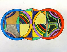 For the Love of Art: 6th Grade  Frank Stella...protractor series