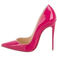 a5ff071999d8 View this item and discover similar shoes for sale at - Christian Louboutin  New Fuchsia Patent Leather So Kate Evening High Heels Pumps in Box Size IT  ...