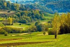 Croatian countryside, in the region Zagorje.