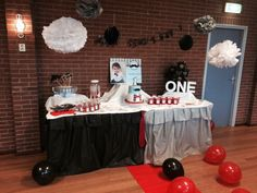 #candybar#moustache#birthday#birthdayboy#one