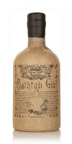 Bathtub Gin illustrates that in the right hands, quality gin can be produced using the cold-compounding technique. This classically-styled gin makes for a Still Spirits, Wine And Spirits, Whisky, Gin Foundry, Gin Joint, Le Gin, Beste Cocktails, Gin Brands, Gin Tasting