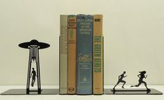 These bookends come in a handful of themes, including zombies, robots and extra terrestrials for all of your apocalyptic needs.