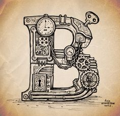 Steampunk Typography Steampunk is a phenomenon,... • typostrate - the typography and design blog