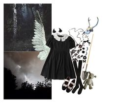 """""""Unbenannt #108"""" by togetic ❤ liked on Polyvore featuring Hansel from Basel, Equipment, Junya Watanabe, NYX, Miss Selfridge and Kreepsville 666"""