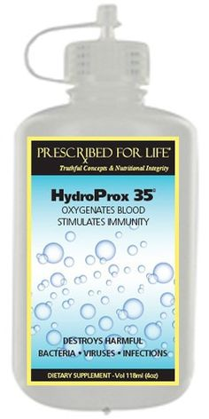 HydroProx 35 (TM) - Pure Food Grade Hydrogen Peroxide (Diluted to for Un-Restricted Shipping), 32 oz Alternative Therapies, Alternative Health, Alternative Medicine, Alternative Treatments, Skin Care Remedies, Natural Remedies, Food Grade Hydrogen Peroxide, Witch Hazel For Skin, E Motion