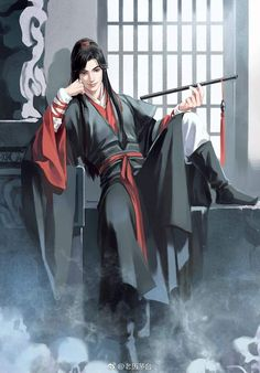 Mo Dao Zu Shi is the best Yaoi/BL novel you should read. Now free read these best Chinese Yaoi/BL novels on Manga Boy, Manga Anime, Anime Art, Character Inspiration, Character Art, Character Design, Samurai, Chinese Man, Handsome Anime