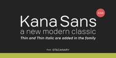 Kana Sans font download