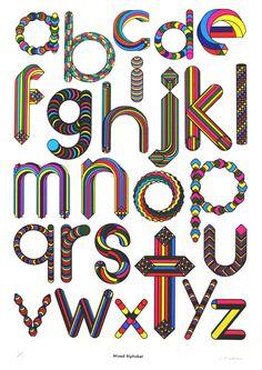 Mixed Alphabet | Print Club London