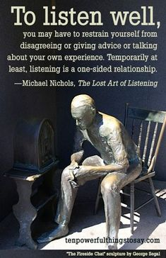How can I get my parents to listen to me? How to get people to LISTEN!- Let's start by understanding that getting someone to listen to you is a common problem: very good people (supervisors, friends, parents) don't always listen well—at least not in the w Quotable Quotes, Wisdom Quotes, Quotes To Live By, Me Quotes, Motivational Quotes, Inspirational Quotes, Poster Quotes, Sign Quotes, Daily Quotes