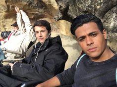 Christian Navarro and Dylan Minnette VIA Instagram @christiannavarro