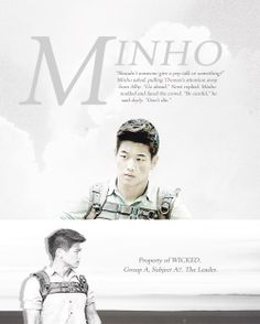 Minho-The Maze Runner a description of what he was to Wicked and who he was to us