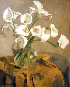 Henriette Wyeth Hurd (Am 1907-1997) noted for portraits & still life paintings