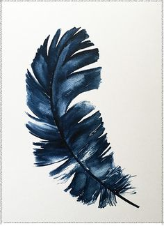 Feather Watercolor #81