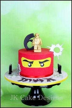 Lego ninja go birthday cake