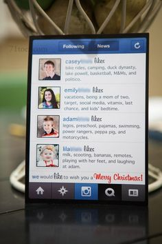 Instagram holiday photo card - Ramon Gomez | Holiday card ...