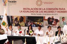 Instalan en Yucatán Comisión para la Igualdad entre Mujeres y Hombres de la Conago - http://plenilunia.com/noticias-2/instalan-en-yucatan-comision-para-la-igualdad-entre-mujeres-y-hombres-de-la-conago/33568/